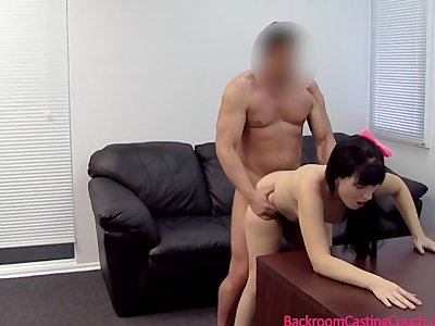 Young Mom Assfucked & Inseminated on Casting Couch