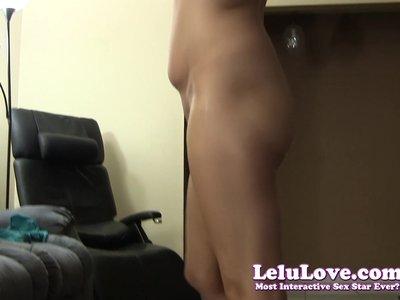 Lelu Love-Naked Workout Asshole Puckering