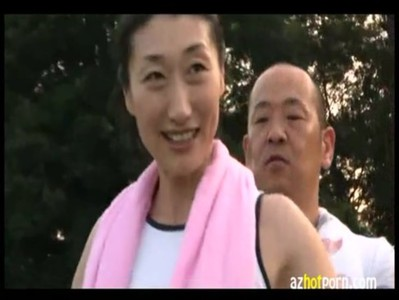 AzHotPorn.com - Jogging Asian Wife is Sexually Frustrated