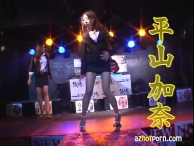 AzHotPorn.com - Erotic Pole Dancing Cowgirl Sex