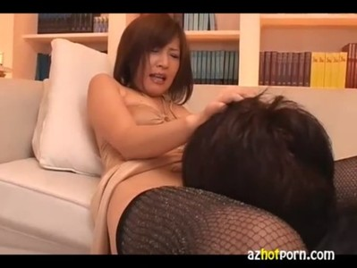 AzHotPorn.com - Femdom Handjob and Blowjob Asian AV
