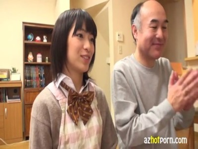 AzHotPorn.com - Slut Having Sex With A Dirty Old Man