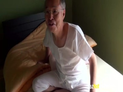 AzHotPorn.com - His Wife Having Sex With A Dirty Old Man