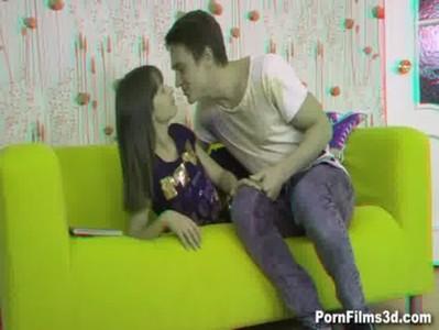 Porn Films 3D - Lovers orgasm together
