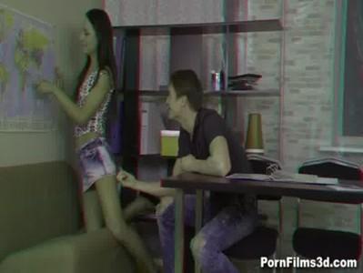 Porn Films 3D - Friends explore each other