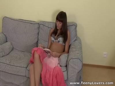 Teeny Lovers - With cock in her pussy