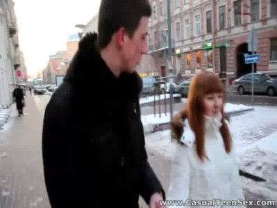 Casual Teen Sex - Warm sex on a cold winter day
