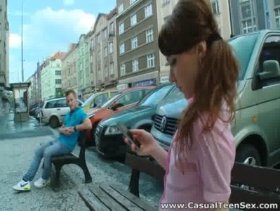 Casual Teen Sex - Teeny wanted to get picked up