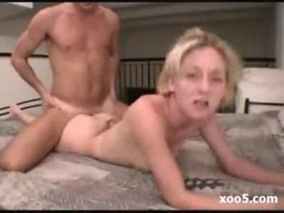 blonde milf anal