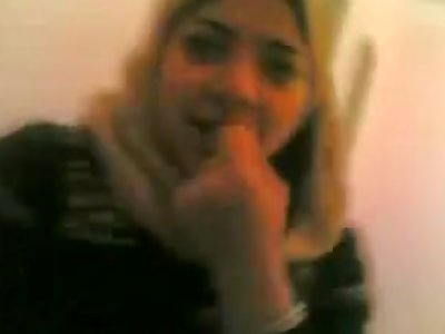 Arab girl home video