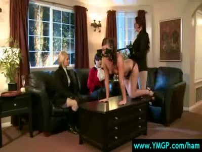 Hot and Mean Busty Lesbians Punished 09