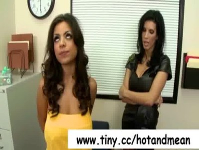 Hot and Mean - Busty Lesbians Fucking video-31