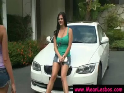 Hot and Mean Busty Lesbians Get Punished Hard 07