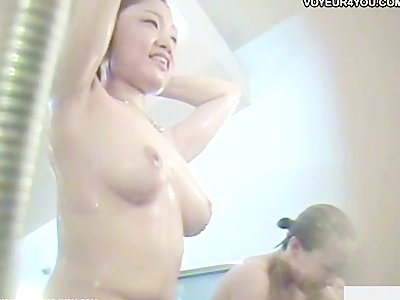 Shower woman naked expose